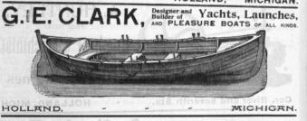 G.E. Clark advertisement
